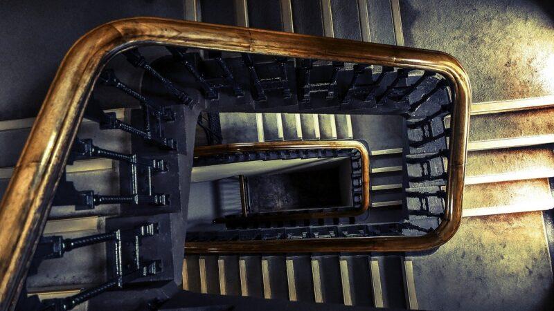 Treppenhause von oben